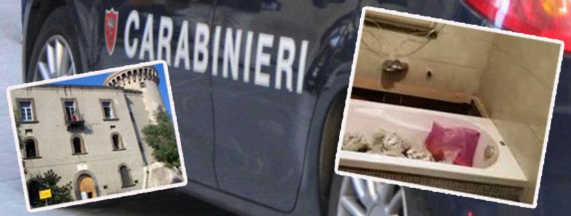 Caivano 15 chili di droga sotto la vasca da bagno arrestata una donna in centro citt nano tv - Droga dei sali da bagno ...