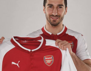 Terza Maglia Arsenal Henrikh Mkhitaryan