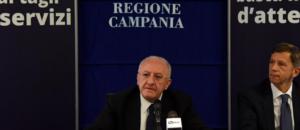 Regione Campania De Luca Coronavirus