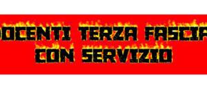 Docenti Terza Fascia con Servizio