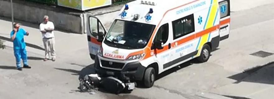 ambulanza scooter succivo