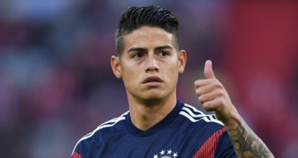 James Rodriguez Napoli