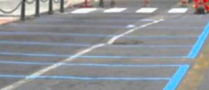 afragola Frattamaggiore strisce blu