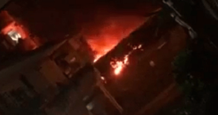Arzano Incendio