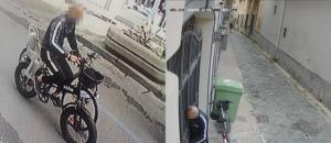 Frattamaggiore Ladro Biciclette