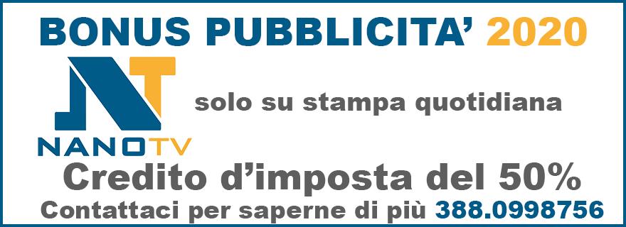 NanoTV Pubblicità