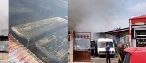 Afragola Incendio Deposito Bus