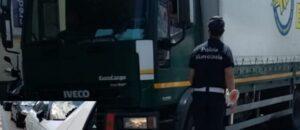 Frattamaggiore Tir Polizia Locale