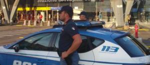 Polizia Napoli Piazza Garibaldi