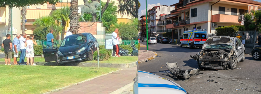 incidente afragola