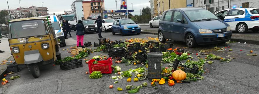 Polizia Locale Aggressione Napoli