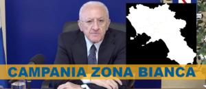 De Luca Campania Zona Bianca