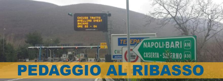 Pedaggio Autostrada Napoli Canosa