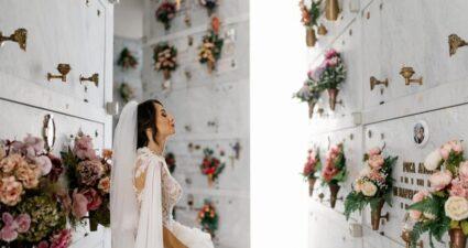 napoli sposa cimitero