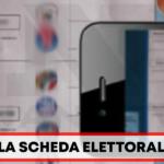 Afragola Scheda Elettorale