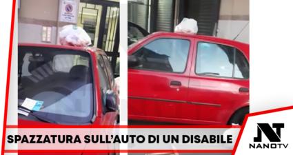 Casoria Spazzatura disabile