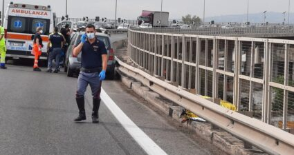 Asse Mediano Frattamaggiore incidente morto