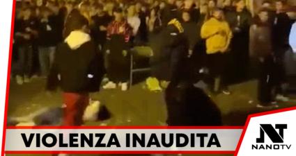 Movida Violenza piazzetta orientale