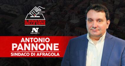 Afragola Antonio Pannone Sindaco